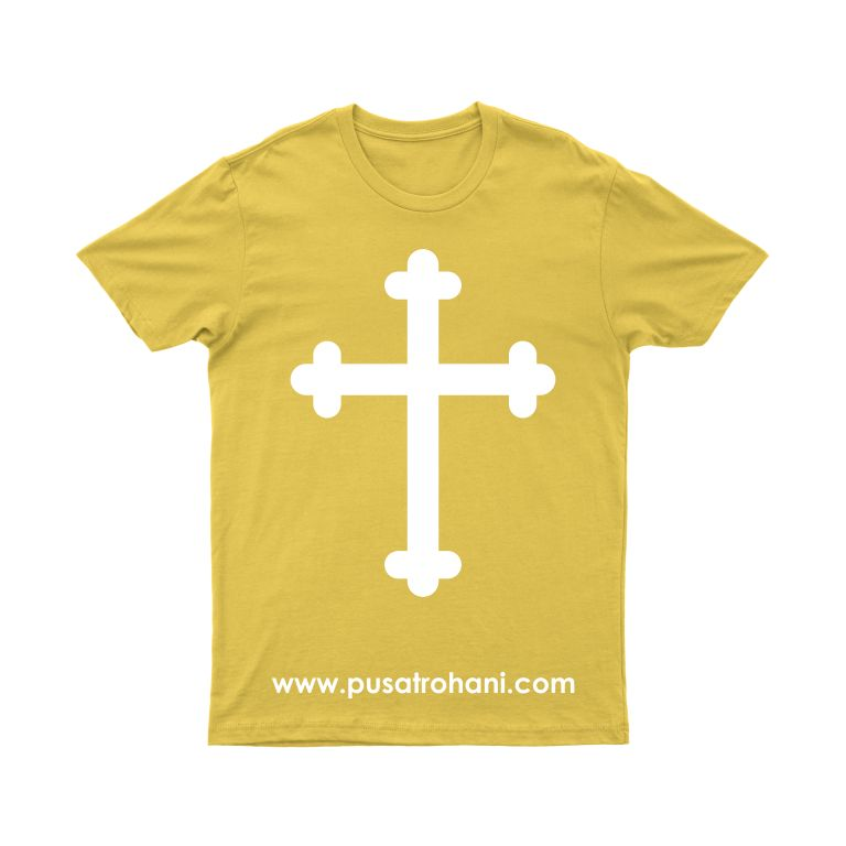 Kaos Rohani Katolik & Kaos Rohani Kristen Salib 1