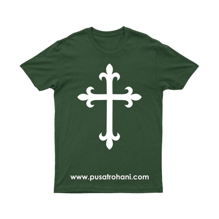 Kaos Rohani Katolik & Kaos Rohani Kristen Salib 3